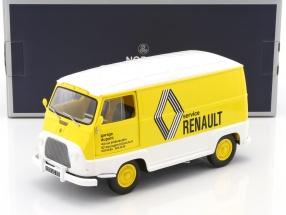 Renault Estafette Assistance Renault Baujahr 1972 gelb / weiß 1:18 Norev