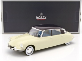 Citroen DS 19 Salon de Paris 1955 beige / aubergine 1:18 Norev