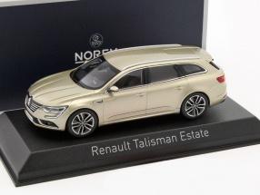 Renault Talisman Estate Baujahr 2016 beige metallic 1:43 Norev