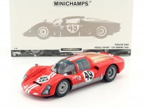 Porsche 906K #49 12h Sebring 1966 Siffert, Vögele 1:18 Minichamps