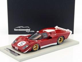Ferrari 512S #5 Test Car 24h LeMans 1970 Ickx, Schetty, Giunti 1:18 Tecnomodel