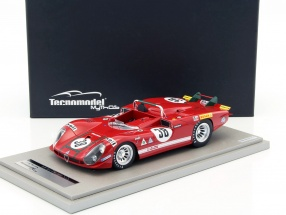 Alfa Romeo T33/3 #38 24h LeMans 1970 Zeccoli, Facetti 1:18 Tecnomodel