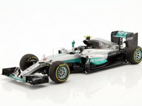 Nico Rosberg Mercedes F1 W07 Hybrid #6 World Champion Abu Dhabi GP F1 2016 1:18 Spark