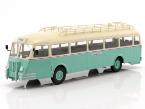 Chausson APH 47 Nez de Cochon bus year 1951 mint green / cream white 1:43 Altaya