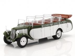 Citroen T23RU Chaissaing Bus Baujahr 1947 weiß / grün 1:43 Altaya