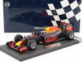 Daniel Ricciardo Red Bull RB12 #3 1st Pole Position Monaco GP Formel 1 2016 1:18 Minichamps