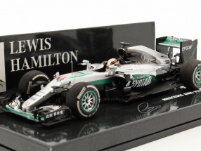 Lewis Hamilton Mercedes F1 W07 Hybrid #44 China GP formula 1 2016 1:43 Minichamps