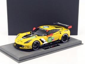 Corvette Chevrolet C7R LM GTE Pro #64 24h LeMans 2015 Gavin, Milner, Taylor 1:18 BBR