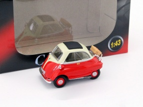 BMW Isetta 250 red 1:43 Cararama