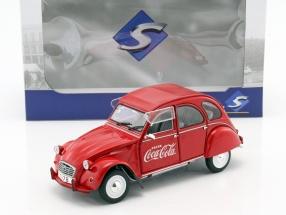 Citroen 2CV6 Coca Cola Baujahr 1978 rot 1:18 Solido