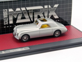 Delahaye 135 Pininfarina coupe year 1947 silver 1:43 Matrix