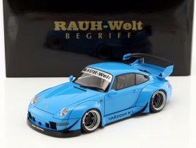 Porsche 911 (993) RWB blau 1:18 AUTOart