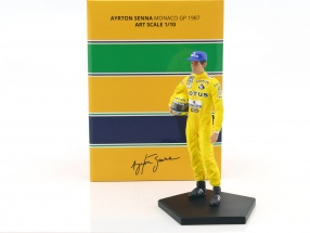 Ayrton Senna Fahrerfigur Winner Monaco GP Formel 1 1987 1:10 Iron Studios