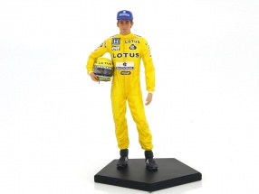 Ayrton Senna driver figure Winner Monaco GP formula 1 1987 1:10 Iron Studios