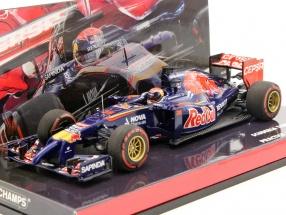 M. Verstappen #38 Toro Rosso STR9 Practice 1 Japan GP Formel 1 2014 1:43 Minichamps