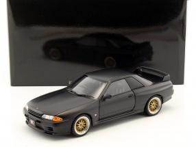 Nissan Skyline GT-R (R32) Tuned Version matt schwarz 1:18 AUTOart