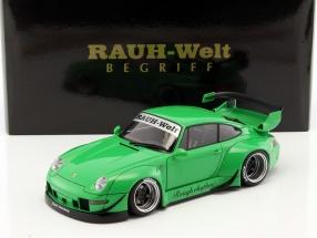 Porsche 911 (993) RWB grün 1:18 AUTOart