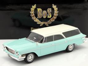 Chrysler Newport Town & Country Wagon year 1962 helltürkis / white 1:18 BoS-Models