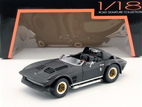 Chevrolet Corvette Grand Sport Roadster year 1964 mat black 1:18 Lucky DieCast