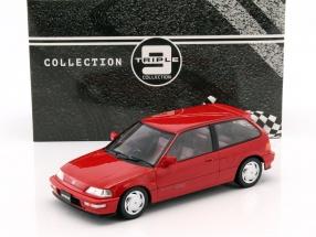 Honda Civic EF-9 SiR Baujahr 1990 rot 1:18 Triple 9