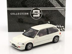 Honda Civic EF-3 Si Baujahr 1987 weiß 1:18 Triple 9