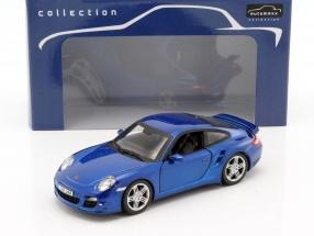 Porsche 911 (997) Turbo blau 1:24 Automaxx