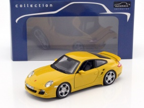 Porsche 911 (997) Turbo gelb 1:24 Automaxx