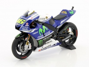 Valentino Rossi Yamaha YZR-M1 #46 MotoGP 2014 1:12 Minichamps