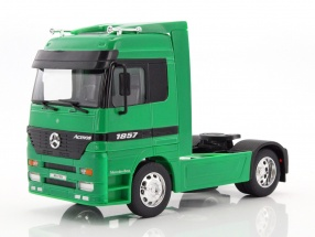 Mercedes-Benz Actros 4x2 grün 1:32 Welly