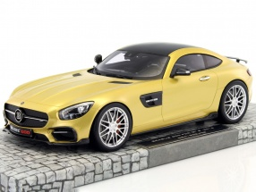 Brabus 600 For GTS year 2016 gold 1:18 Minichamps