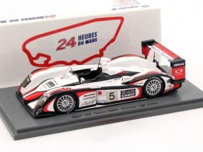Audi R8 #5 24h Winner LeMans 2004 Ara, Capello, Kristensen 1:43 Spark