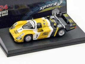 Porsche 956 #7 Winner 24h LeMans 1985 Ludwig, Barilla, Krages 1:64 Spark