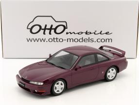 Nissan Silvia S14A Baujahr 1997 lila 1:18 OttOmobile