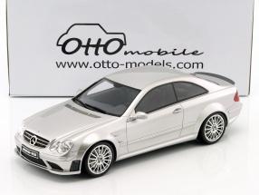 Mercedes-Benz CLK 63 AMG Black Series Baujahr 2008 silber 1:18 OttOmobile