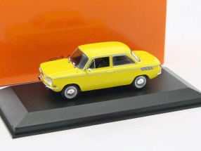NSU TT year 1967 yellow 1:43 Minichamps