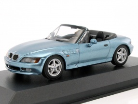 BMW Z3 Roadster year 1997 blue metallic 1:43 Minichamps