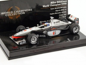 Mika Häkkinen McLaren Mercedes MP4/13 #8 World Champion formula 1 1998 1:43 Minichamps