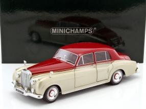 Bentley S2 Baujahr 1960 beige / dunkelrot 1:18 Minichamps