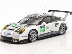 Porsche 911 RSR #91 24h LeMans 2016 Pilet, Estre, Tandy 1:18 Spark