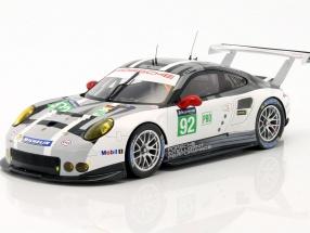 Porsche 911 RSR #92 24h LeMans 2016 Makowiecki, Bergmeister, Bamber 1:18 Spark