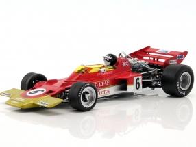 Jochen Rindt Lotus 72C #6 World Champion France GP formula 1 1970 1:18 Quartzo