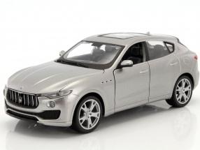 Maserati Levante year 2016 silver 1:24 Bburago