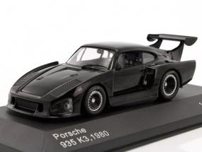 Porsche 935 K3 Baujahr 1980 schwarz 1:43 WhiteBox