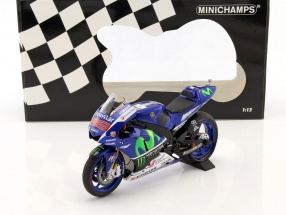 Jorge Lorenzo Yamaha YZR-M1 #99 World Champion MotoGP 2015 1:12 Minichamps