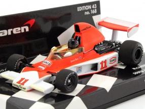 James Hunt McLaren Ford M23 #11 Weltmeister Südafrika GP Formel 1 1976 1:43 Minichamps
