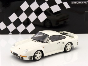 Porsche 959 year 1987 white 1:18 Minichamps