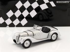 BMW 328 year 1936 silver 1:18 Minichamps