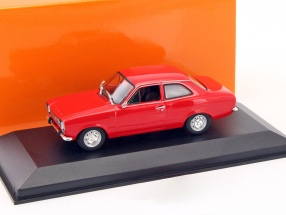 Ford Escort I LHD year 1974 red metallic 1:43 Minichamps