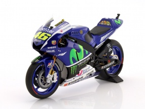Valentino Rossi Yamaha YZR-M1 #46 MotoGP 2015 1:12 Minichamps