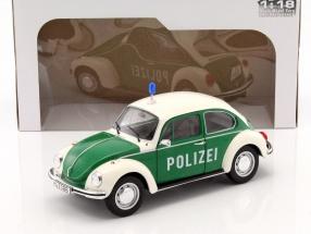 Volkswagen VW Käfer Polizei grün / weiß 1:18 Solido